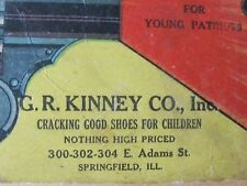 Pat 1914 Child Noise Maker Toy Advertising G.R. Kinney Co Shoes Springfield Il
