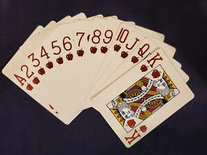 OHIO Aristocrat New York New York Casino Jumbo Tech Art Blue & Red Playing Cards