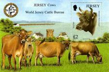 JERSEY 2008 JERSEY COWS MINIATURE SHEET MNH