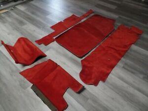 Mercedes SL Trunk carpets 450sl 560sl 107 380 450 R107 350 carpet w107 380sl 500