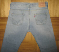 Men's Levi's 506 Standard Jeans Straight Leg Blue Denim size W34 L32