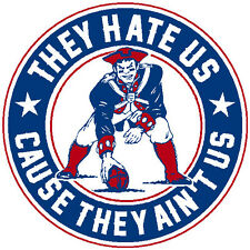 New England Patriots sticker decal