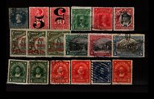 Chile 18 Mint and Used, some faults - C3328