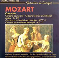 Mozart CD Konzerte / Concertos - Holland (M/EX+)