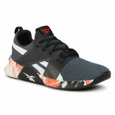 Mens Reebok Flashfilm 2 Black Red Running Shoes Lightweight Breathable FW8148