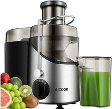 Licuadoras Para Verduras y Frutas, Aicook 3 Velocidades Licuadora Prensado Frio