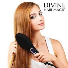 Haarglätter Bürste Haarbürste elektrisch Thermobürste Lockenstab