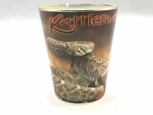 Souvenir Collectible Shot Glass - Pre-Owned - Rattlesnake, Arizona glassware