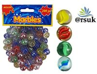 COLOUR MARBLES Vintage Toys Games AQUARIUM AND DECORATIVE PURPOSE 200 PCS (1 kg)