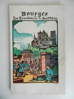 Bourges la révolution de juillet 1830