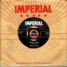 MERLE KILGORE HANG DOLL ROCKABILLY OLDIES BOPPER 45 RPM RECORD