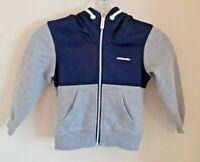 MCKENZIE Blue and grey long sleeved hoodie age 10 BNWT RRP £50