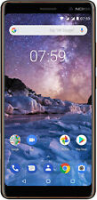 Nokia 7 Plus Single Sim Black Copper # AU