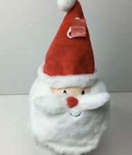 NWT Adult Red Santa Hat Face Mustache Beard Christmas Holiday One Size