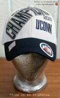 UCONN HUSKIES 2011 NCAA Basketball Men's Champions Final Four Houston Hat Cap