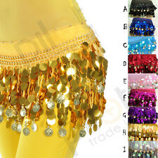 9 colors for chose NEW belly dance Hip Scarf waistband belt skirt  HOT