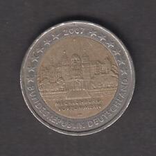 Allemagne - Pièce commémorative de 2 euros - Mecklenburg - 2007