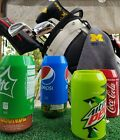 Golf Sport outdoor boating hiking fishing Silicone Can Covers Hide A Beer 4 PACK