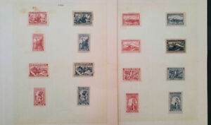 (Z8) SCARCE ARMENIA CLASSIC STAMPS 1922, CP SET ON PAGE 3 SCANS CAT.VL+ 320,00€