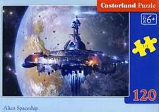 Castorland Puzzle Alien Astronave Nave Spaziale 120 Teile Da 6 Anni In Su