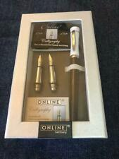 ONLINE Fountain pen set made in Germany rare black w/tracking free shipping
