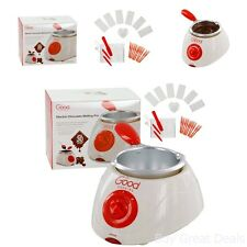 Electric Chocolate Melting Pot Fondue Machine Candy Dip Fruit Party Cake Pops