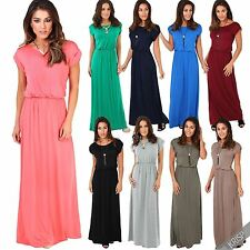 Viscose Boat Neck Short Sleeve Dresses for Women