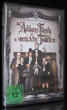DVD DIE ADDAMS FAMILY IN VERRÜCKTER TRADITION - RAUL JULIA + ANJELICA HUSTON NEU