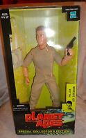 """Hasbro Major Leo Davidson Planet of the Apes Collector's 12"""" Action Figure Toy"""