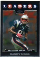 2008 Topps Chrome Randy Moss New England Patriots #TC128 Football Card
