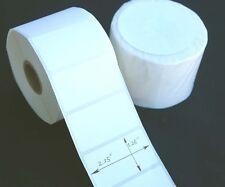 "5000 pcs 2.25x1.25"" Direct Thermal Labels Shipping Label Zebra Eltron Printing"