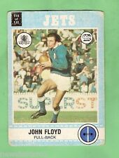 1977 SCANLENS RUGBY LEAGUE CARD  -  #118  JOHN FLOYD, NEWTOWN JETS