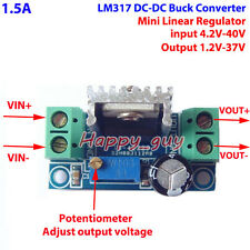 LM317 DC-DC Buck Step Down Converter 5V-40V To 1.2V-37V Linear Voltage Regulator