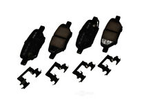 Disc Brake Pad Set-Ceramic Disc Brake Pad Rear ACDelco Pro Brakes 17D1033CH