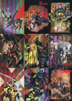 X-Men Archives Ready-For-Action Cover Gallery Chase Card Set CA1 thru CA9