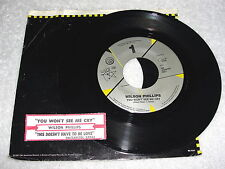 """Wilson Phillips """"You Won't See Me Cry / This Doesn't..."""" 45 RPM, 7"""",+Jukebox Tab"""