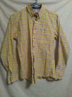 Wrangler George Strait Cowboy Cut Collection Plaid Long Sleeve Button Down Shirt
