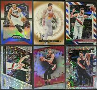Lot of (6) Jusuf Nurkic, Including SP Authentic RC, Prizm RWB & other parallels