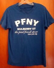 PAUL FRANK small T shirt PFNY punk rock parody Mulberry tee New York fashion