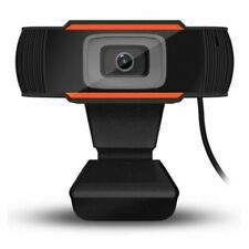 Auto Focus Rotatable 720P HD Webcam PC Laptop USB Camera Video Recording w/ Mic