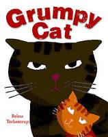Grumpy Cat by Britta Teckentrup, Acceptable Used Book (Paperback) Fast & FREE De
