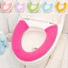 All Shape Toilet Cover Seat Lid Pad Bathroom Protector Closestool Soft Warmer