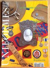 LA GAZETTE DES UNIFORMES N° 145 / ARMEE,GUERRE,PILOTE,GARDE,TROUPE,MILITAIRE