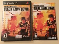 Delta Force : Black Hawk Down Sony PlayStation 2 PS2 With Manual