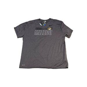 NWT NEW Missouri Tigers Nike Dri Fit Team Issue Legend Performance Shirt 3XL