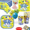 BANANAS IN PYJAMAS PARTY SUPPLIES CUPS PLATES NAPKINS BALLOONS T.COVER LOOTBAGS