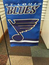 St Louis Blues Garden Flag 2 Sided