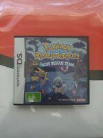 Pokemon: Mystery Dungeon Blue Rescue Team Version Genuine Nintendo DS PAL AUS