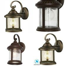 Cambridge Outdoor Essex Bronze Wall Lantern Xmas Decoration Metal Shade Sconce