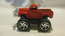 Old Style Ford Pick-Up Monster Truck In A Red 1:32 Scale Diecast      NEW dc1204